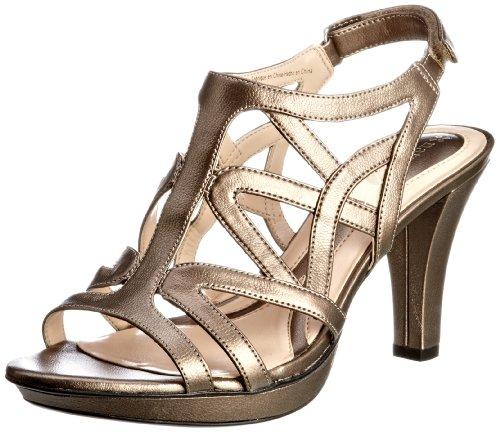 Naturalizer Women's Danya Nickel Alloy Metallic Slingbacks Heels 47147 5 UK