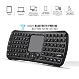 Mini Bluetooth Keyboard, Jelly Comb IBK-26IM Wireless Handheld Remote Control Mouse Touchpad Keyboard for Laptop, Tablet, PS4, Google Android TV Box, HTPC, IPTV and More