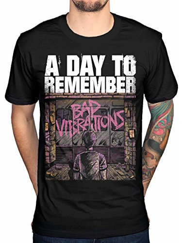 A Day To Remember Bad Vibrations Men's T-shirt Black (Small)