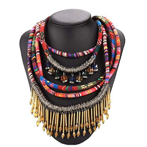 zeagoo-womens-ethnic-vintage-style-rope-multilayer-weave-bohemian-style-necklace