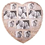 Shabby Chic Heart Photo Collage Frame...