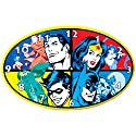 Westland Giftware Wall Clock, Measures 9-Inch, DC Comics Superheroes