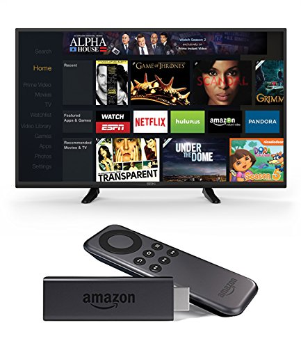 Seiki SE43FK 43-Inch 1080p 60Hz LED TV and Amazon Fire TV Stick