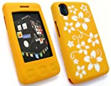 FLASH SUPERSTORE LG KP500 COOKIE SILICON CASE/COVER/SKIN FLORAL YELLOW