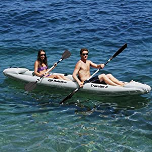 Traveller Inflatable 2 Person Kayak by Solstice