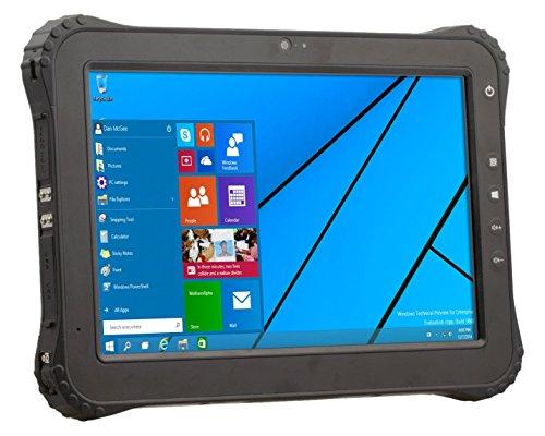 Vanquisher 10-Inch 4G LTE Rugged Tablet PC, Windows 10 / Intel Atom X5 Z8300 CPU / Anti-scratch Corning Gorilla Panel / IP65 / Incorporated U-blox GPS Module
