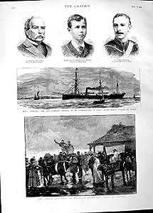 Grive 1890 de Bateau de Bétail de Vente du Pays De Galles de Dîme Barry Cobourg