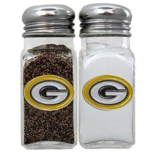 NFL Green Bay Packers Salt & Pepper Shakers