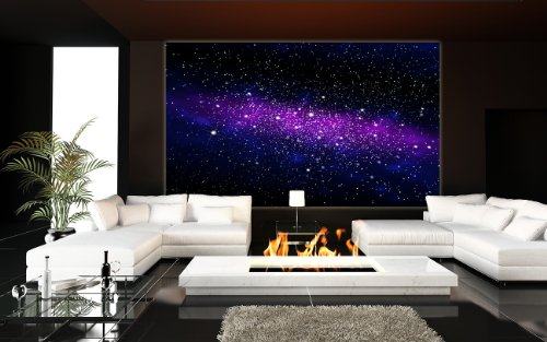 Galaxy photo wallpaper space mural starry sky xxl for Decoration xxl