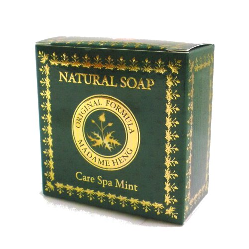 MADAME HENG NTURAL SOAP Care Spa Mint
