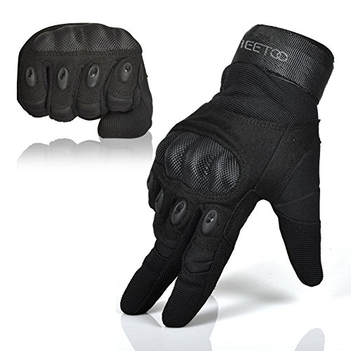 Freetoo Men's Outdoor Gloves Full Finger Cycling Motorcycle Gloves