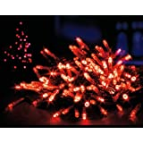 Premier 200 LED Multi-Action Supabright Outdoor Xmas Lights - Red
