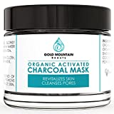 Activated Charcoal Face Mask, Powdered, Organic and Natural Ingredients, Remove Blackheads, Minimize Pores and Fight Acne