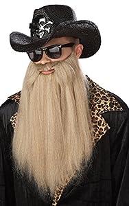 Sharp Dressed Man Adult Beard from California Costume