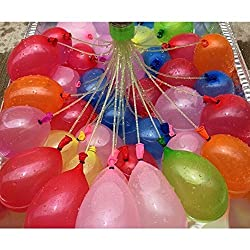 Just Creat Magic Balloons Bunch Balloons Water Balloons Easy For Kids To Use 9 Bunch=333 Pcs