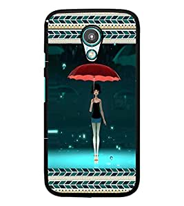 PrintDhaba Umbrella Girl D-5965 Back Case Cover for MEIZU M1 NOTE (Multi-Coloured)