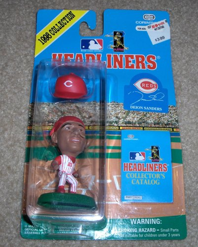 Picture of Corinthian Headliners Deion Sanders 1998 Collection Figure (B000OR2SSQ) (Corinthian Action Figures)