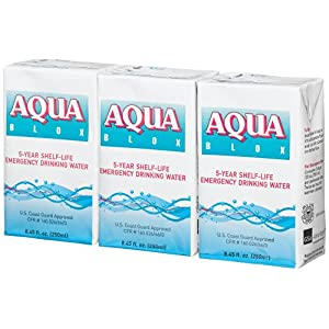 Aqua Blox 5-Year Shelf-Life Emergency Drinking Water (27 pack)