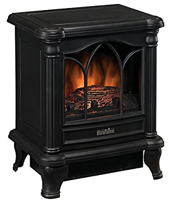 Duraflame DFS-450-2 Carleton Electric Stove with Heater, Black