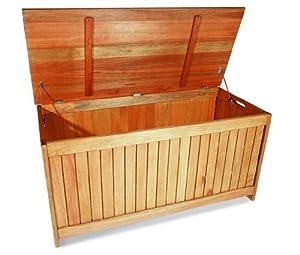 Merxx garten aufbewahrungsbox aus holz f r kissen for Auflagenbox meranti