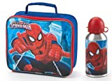 Marvel Ultimate Spiderman Lunch Bag and Aluminium Bottle