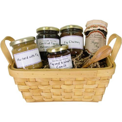 Figgy Figs - Fig themed European gift basket