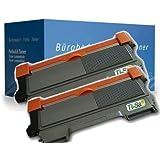 2x Tisanto XXL Discount Rebuilt Toner für Brother HL 2250 DN, HL 2270 DW. - BLACK - Leistung: ca. 5200 Seiten