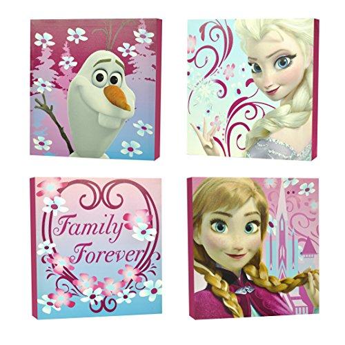 Disney Frozen Square Canvas Wall Art