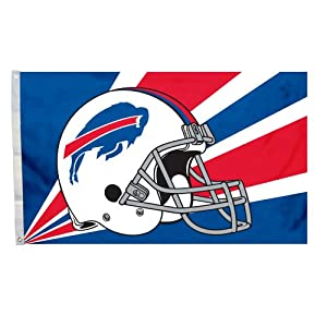 NFL Buffalo Bills 3-by-5 Foot Helmet Flag by Fremont Die