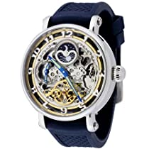 Rougois Skeleton Automatic, Dual Time Zone Watch RASBB
