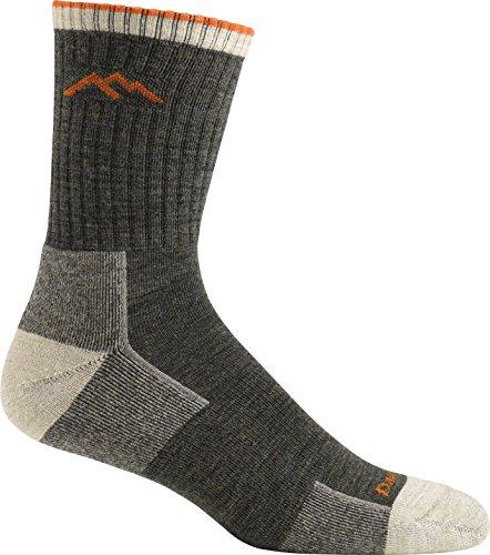 Darn Tough Merino Wool Micro Crew Sock Cushion,Olive,Small