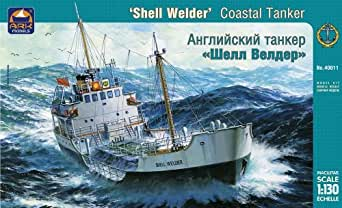 Ark Models Shell Welder British Coastal Tanker