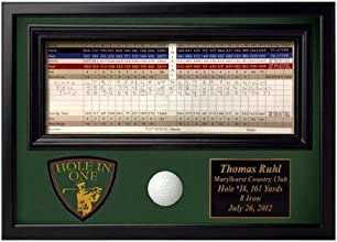 ProActive Sports Hole In One Ball and Scorecard Display