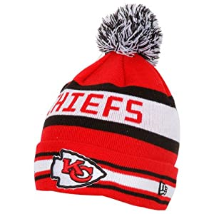 Mens New Era Kansas City Chiefs The Jake Knit Hat One Size Fits All by New Era
