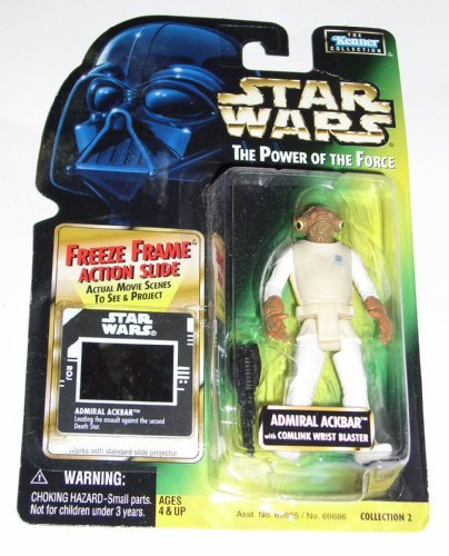 Star Wars: Power of the Force Freeze Frame Admiral Ackbar Action Figure