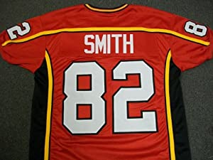 TORREY SMITH AUTHENTIC STYLE MARYLAND TERPS TERRAPINS UNSIGNED Red JERSEY XL