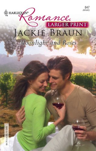 Image for Moonlight And Roses (Larger Print Harlequin Romance)