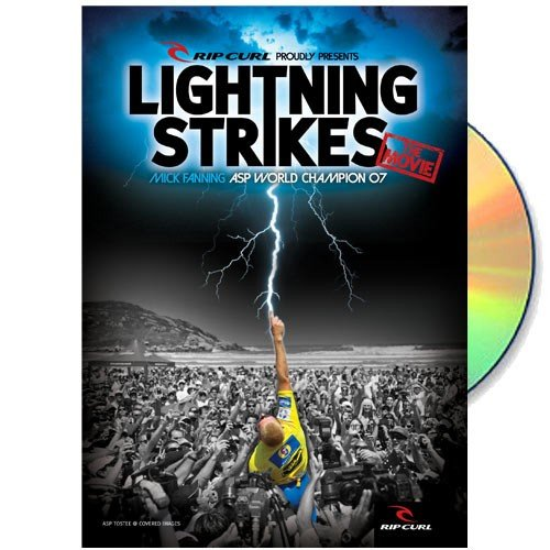 Rip Curl Presents Lightning Strikes Mick Fanning Asp World Champion '07 Dvd