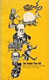 THE HARDER THEY FALL: Boston Globe Cartoons by Paul Szep, introduction by Robert Redford