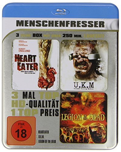 Menschenfresser - Metallbox-Edition (3 Filme Blu-ray)