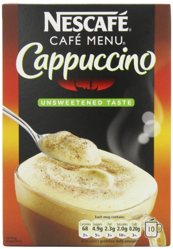 Nescafé Cappuccino Unsweetened (Pack of 12)