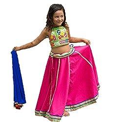 Aglare,Baby Girl Lehenga choli,Kids Lehenga choli ,Lehenga choli for Girls,Ethnic wear,Lahenga choli for small girls ,(Full set Stitched)