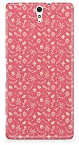 Sony C5 Ultra Back Cover by Vcrome,Premium Quality Designer Printed Lightweight Slim Fit Matte Finish Hard Case Back Cover for Sony C5 Ultra