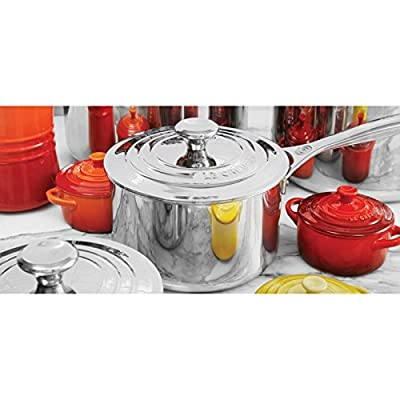 Le Creuset 5 Piece Tri-Ply Stainless Steel Set