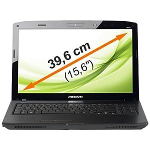 MEDION P6630 i3 Notebook 39,6cm HD LED USB 3.0 2,66GHz 640GB ° WIN7 ° 4GB RAM ° W-LAN ° Brilliante NVIDIA GeForce GT540M DirectX 11 Grafik mit 1024 MB Speicher, digitalem HDMI- Audio-/Video-Ausgang