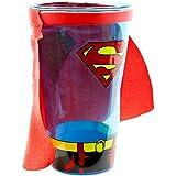 Superman Blue Caped Pint Glass