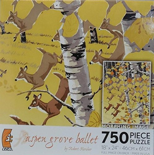 Aspen Grove Ballet Morphing Image 750 Piece Puzzle