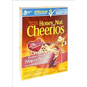 Honey Nut Cheerios Cereal 17 oz