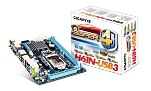 Gigabyte GA-H61N-USB3 Carte mère Intel Mini ITX Socket 1155 (Rev 1.0)