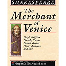 The Merchant of Venice Audiobook by William Shakespeare Narrated by Dorothy Tutin, Harry Andrews